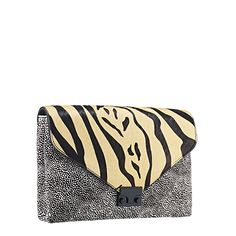 Loeffler Randall Lock Clutch | Handbags | LoefflerRandall.com