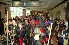 Here is a photo from the 2011 International Chinese Martial Arts Championship in Orlando, Florida USA