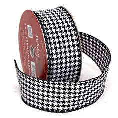 Image result for houndstooth ribbon amazon
