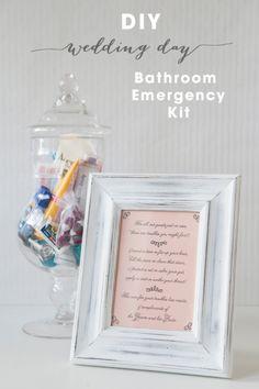 Diy Bathroom Emergency Kit - Free Printables
