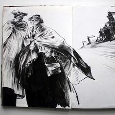 Lars Henkel, sketchbook