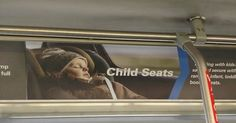 Car seat safety and accuracy incorrectly portrayed in advertising.