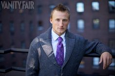Ryan Miller photographs five of his fellow N.H.L. players in New York City to raise awareness for the fight against cancer. ... Tampa Bay Lightning center Steven Stamkos. (Sept. 2010)