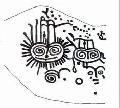 arte rupestre mitología - orillas del tukudi