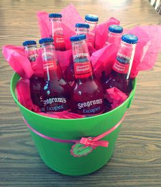 21st Birthday Gift Wine Cooler Bucket