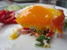 Gunns momsemat: Superfrokost med spekeskinke og egg Eggs, Breakfast, Food, Alternative, Morning Coffee, Essen, Egg, Meals, Yemek