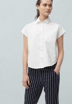 Блуза Mango - BASICS6 купить за 1 199грн MA002EWIFR81 в интернет-магазине Lamoda.ua