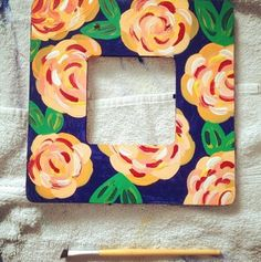how to paint lilly prints