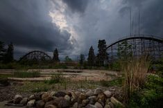 Bizarro abandoned amusement parks hauntingly beautiful real life haunted places