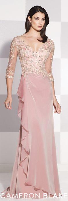 Cameron Blake Spring 2015 - Style No. 115619 cameronblake.com #eveningdresses #motherofthebridedresses