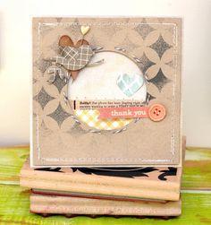 """thepaintbrushgoesspottie: Guest designer for """"the paper bakery kit club"""""""