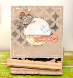 "thepaintbrushgoesspottie: Guest designer for ""the paper bakery kit club"""