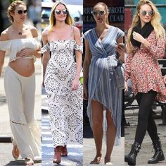 Pregnancy looks on Candice S so cute and pretty maternity wear goes in the garbage