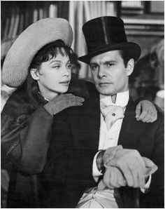 Gigi!  One of the best films featuring Louis Jourdan as Gaston and Leslie Caron as Gigi. Gigi is being trained as a Parisian courtesan by her grandmother but instead falls in love with Gaston, a playboy from the Parisian upper class, and he with her.
