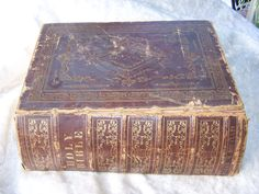 Vintage bible from 1846