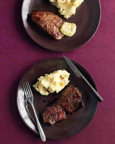Flat-iron steaks are reasonably economical cuts of beef, despite having a well-marbled flesh and intense flavor. This makes them perfect for dinner parties or other special occasions.
