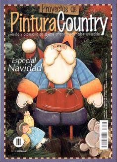 Pintura Country, Christmas Books, Christmas Crafts, Christmas Ornaments, Santa Christmas, Painting Patterns, Craft Patterns, Book Crafts, Diy And Crafts