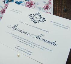 Convite de casamento beija-flor