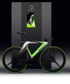 2 x Bike Biking Bicycle Triathalon Wheel Lightening Style Green LED Reflector