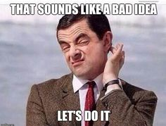 Funny Mr Bean Meme : Shoulda put it in quotes but mr bean just gets giggle rights with