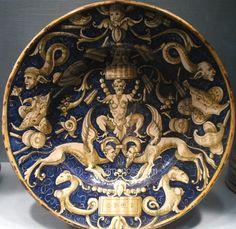 Castel Durante 1537 (A Candelieri) - Metropolitan Museum NY