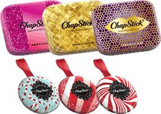 Enter to win two Limited Edition ChapStick holiday tins - 2 winners will be selected! #chapstick #giveaway #holiday