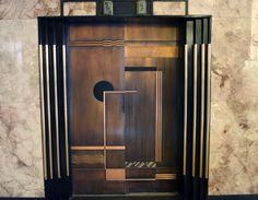 Art Déco - Ascenseur