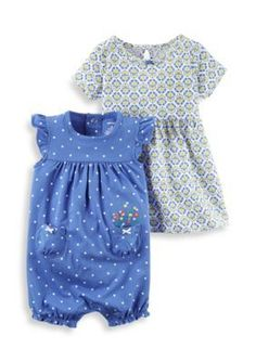 Carters  2-Piece Dress and Romper Set