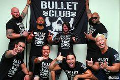 Bullet Club, Doc Gallows, Karl Anderson, AJ Styles, Bad Luck Fale, Tama Tonga, Nick, Matt Jackson, and Yujiro Takahashi