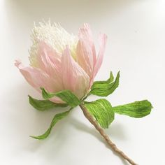 Protea flower bookmark, Paper flower decoration, Wedding bouquet flower, Floral home decoration, Australian native flowers decor  This Australian native flower is a great present for someone who loves reading, or wonderful part for your wedding bouquet or your home decoration. The biggest goal is this flower do not need watering and decoration like this will stay bright and colorful even if you travel a lot. If your friend loves flowers, but has allergies, this is the right floral present…