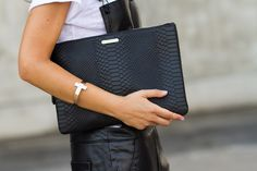 GiGi New York Uber clutch | With Or Without Shoes Fashion Blog