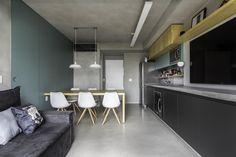 Apartamento dos Painéis Verdes | Galeria da Arquitetura