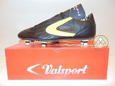 new arrival 3f2b6 4450e Vintage 80 90 Valsport Talent 42 Soccer Shoes 8 Soccer Milan 6 Studs  Lentini   Abbigliamento