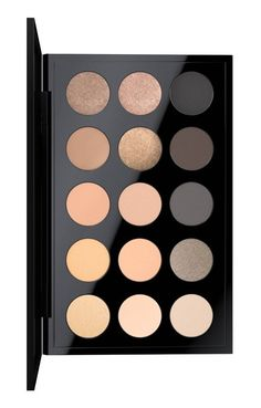 A palette of 15 exquisite shades of long-wearing, highly pigmented powdered eyeshadows that apply evenly and blend and build beautifully—so you'll be gorgeous in any hue.