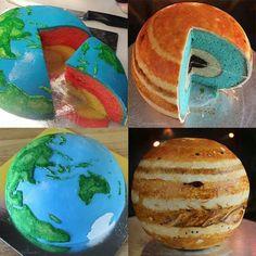 Planet cake