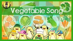 Vegetable Song | Songs for kids | The Singing Walrus - YouTube