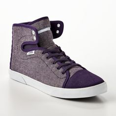 Vans Hadley Mid-Top Shoes - Women ($50) ❤ liked on Polyvore