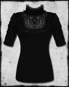 victorian inspired t shirt..i think would be bit more comfi then a blouse :)