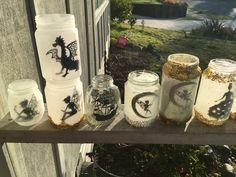 Fairy Jars, Fairy Lights, Bottle, Handmade, Home Decor, Hand Made, Decoration Home, Room Decor