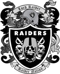 black crest clip art raiders nation as good as it gets rh pinterest co uk Oakland Raiders Graphics oakland raiders clipart free