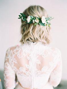 flower crown, floral crown, eucalyptus flower comb, bridal comb, olive leaf crown, olive leaf comb, rose flower comb