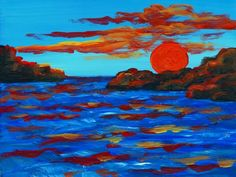 Sunset (Vincent van Gogh)