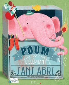 Amandine Piu Elephant Illustration, Children's Book Illustration, Character Illustration, Book Cover Design, Book Design, Elephas Maximus, Album Jeunesse, Flower Sketches, Illustrations And Posters