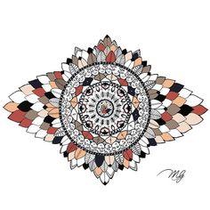 Coeur d'artichaud. #colorvibe #color #mandala #passion #sketch #dessin #detente #design #graphic #new #newpage #mandalamaze #beautiful_mandalas #sharpie #zendala #zentangle #doodle #art #artwork #artiste #love #instalife #mandalas #art_spotlight #montreal #quebec #drawing #artichaud #écaille #flowers