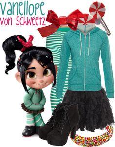 Vanellope Von Schweetz (Wreck-It Ralph) Inspired Outfit