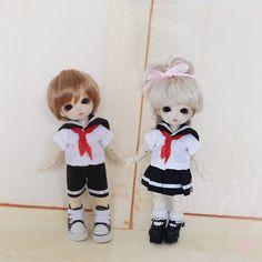 New-1-8-Lati-Y-Puki-Fee-AE-AI-BJD-Clothes-Fashion-Boy-Girl-Sailor-Suit-Uniform