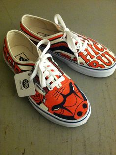 EXAMPLE Custom Shoes by eliseertel on Etsy