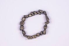 GENUINE PYRITE HEALING Stone Nugget Bracelet  #Bracelets