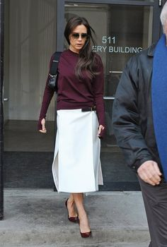 Pin for Later: How Victoria Beckham Went From Spice Girl to Style Icon Victoria Beckham Style Evolution