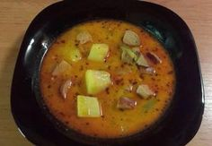 Cheeseburger Chowder, Thai Red Curry, Food And Drink, Cooking, Ethnic Recipes, Soups, Kitchen, Soup, Brewing